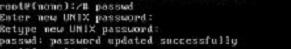 screenshot change password