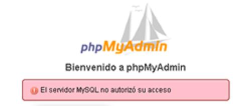 1045 logo phpmyadmin