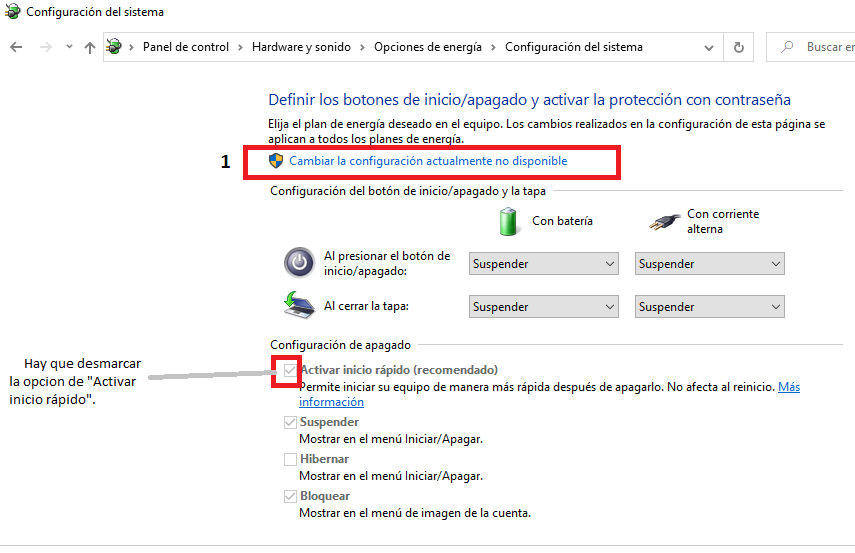 windows 10 no muestra login